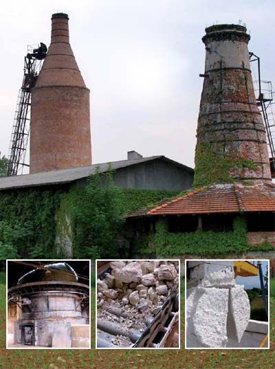 the klin - lime furnace